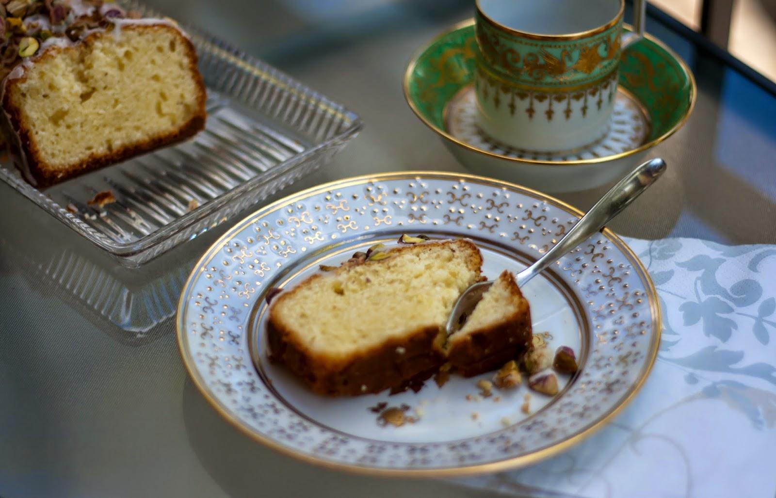 Zitronen Mascarpone Kuchen Mit Gesalzenen Pistazien Enthalt Werbung