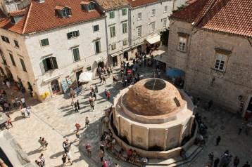 Dubrovnik Rotunde von oben