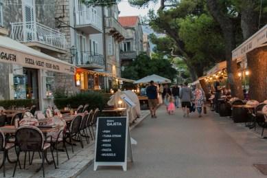 15_Korcula-Stadt Restaurants am Meer
