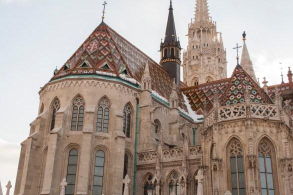 8 Matthiaskirche Budapest Rückansicht