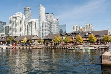 Bild 6 Toronto Harbourfront mit ehemaligen Lagerhäusern