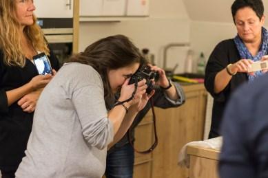 Kochen und Freunde Gäste fotografieren2