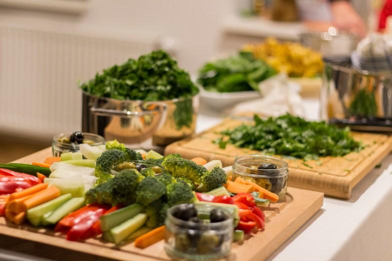 Kochen und Freunde Gemüse