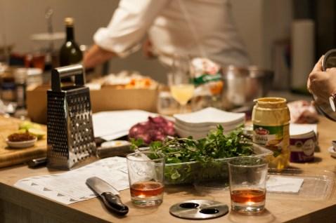 Kochen und Freunde Küchenchaos2