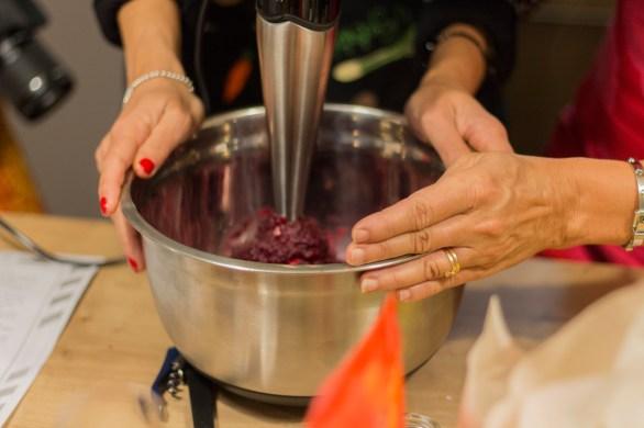 Kochen und Freunde Moutabel Rote-Bete-Dip