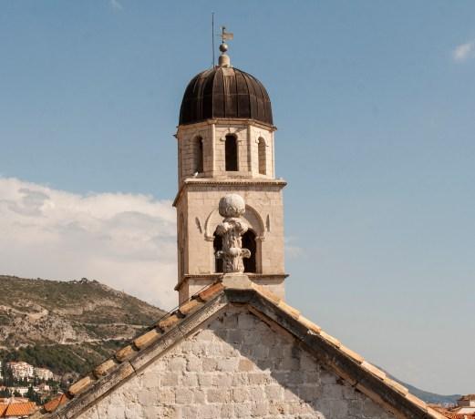 Dubrovnik Kirchendetail