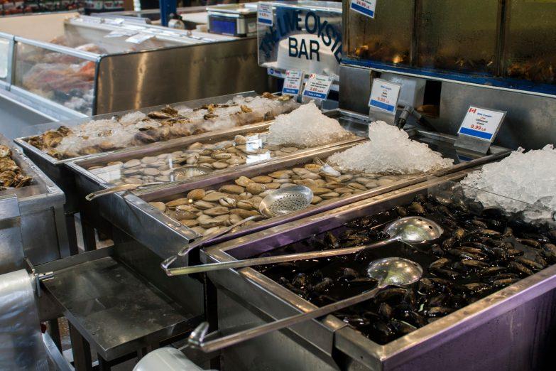 Bild 14 Toronto St Lawrence Market Meeresfrüchte
