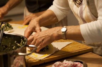 Kochen und Freunde Gözleme4