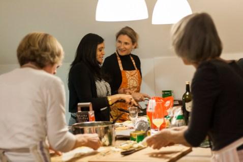 Kochen und Freunde Meeta K. Wolff